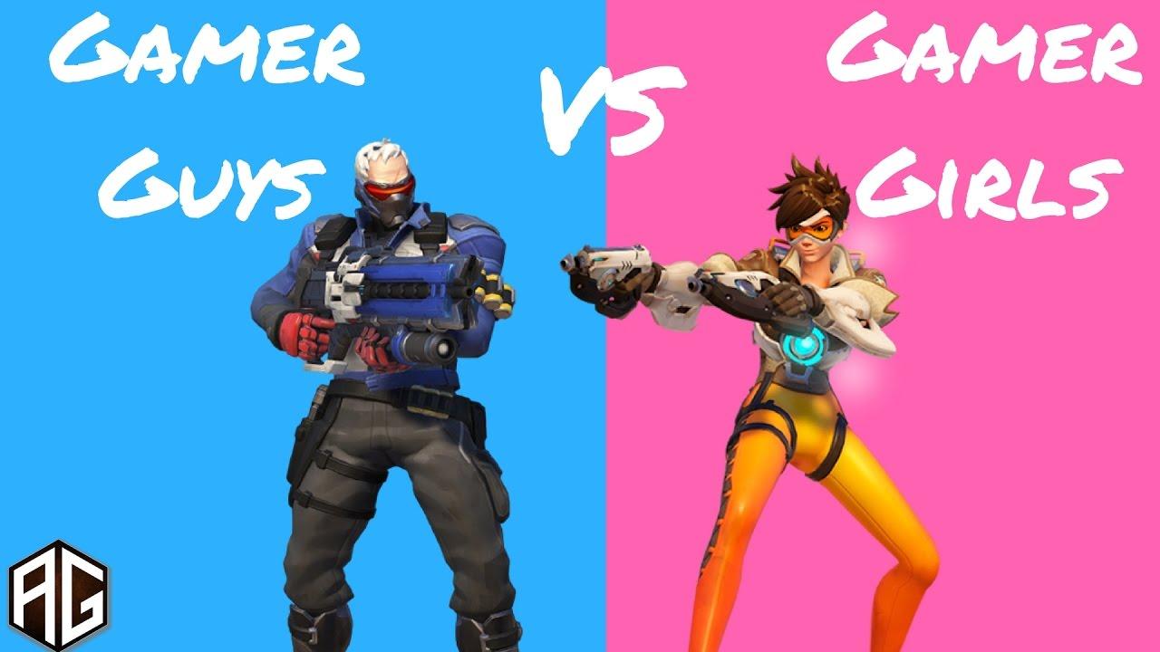 Gamer Piger vs Gamer Guys - Overwatch Begivenhed - Hotteste-9442