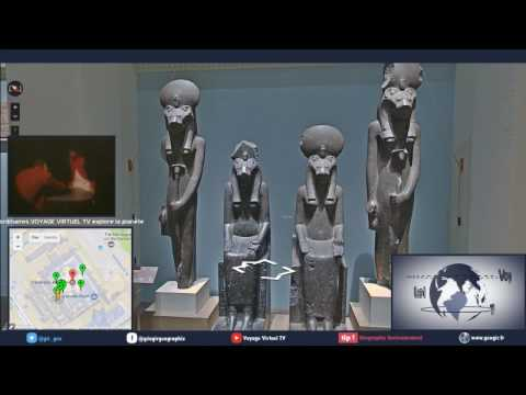 Voyage Virtuel TV Live du 11/04/2017 : visite du British Museum à Londres