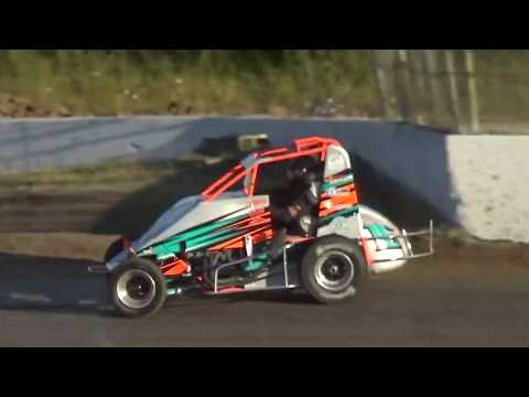 Grays Harbor Raceway, 2019 Fred Brownfield Classic, Night 2, NW Focus Midgets Heat Races 1,2 and 3