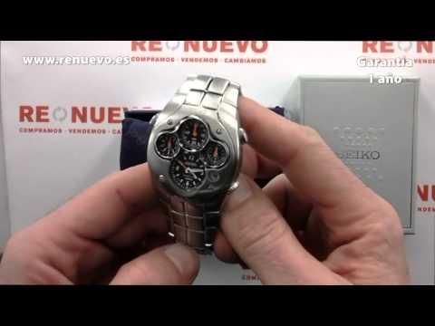 712388e2114a Reloj SEIKO Sportura Kinetic de segunda mano E220379 - YouTube