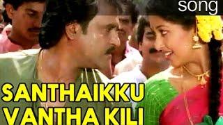 Santhaikku Vanthakili HD Song With Lyrics