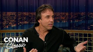 """Kevin Nealon Disappointed The Italian Paparazzi - """"Late Night With Conan O'Brien"""" 08/11/2006"""