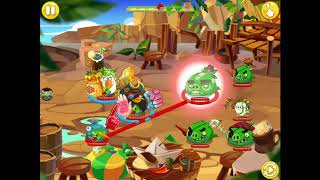 Monday dungeon again but 3 stars Angry Birds Epic