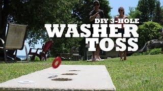 DIY 3-Hole Washer Toss