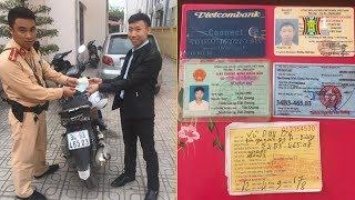 Đội 5 - CSGT Hà Nội trả lại tài sản người dân đánh rơi   Tin nóng   Nhật ký 141