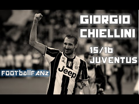 "Giorgio Chiellini  "" The Defence Beast ""  Best Defensive Tackles 15/16"