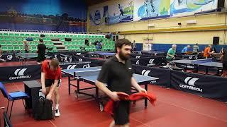 Романов Роман (585) 3-1 Сироткин Яков (507) игра за 1 место