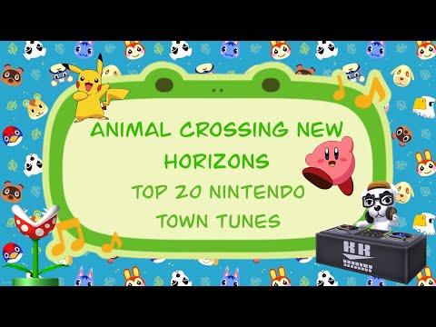 Animal Crossing New Horizons Top 20 Nintendo Town Tunes