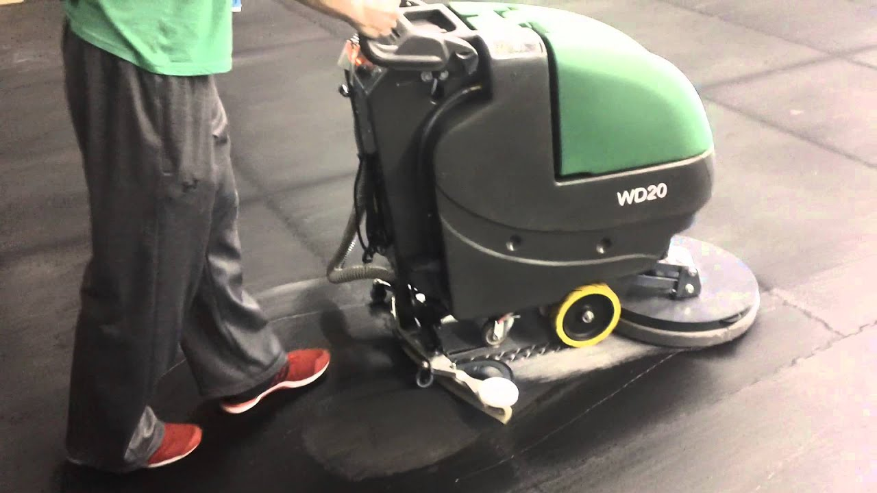 Wd20demo youtube for Floor cleaning machine