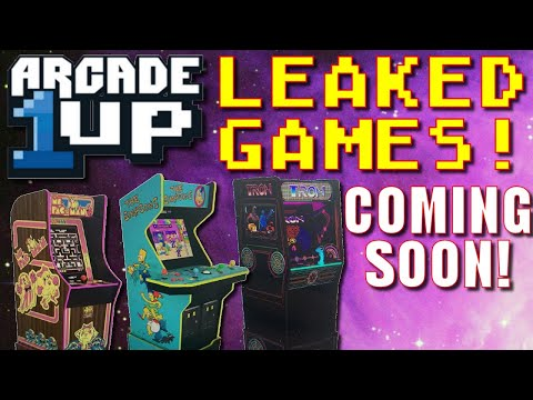 Arcade 1up Leaked Games Coming Soon! from Greg's Game Room