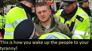 How the arrest of Tommy Robinson is waking up a generation