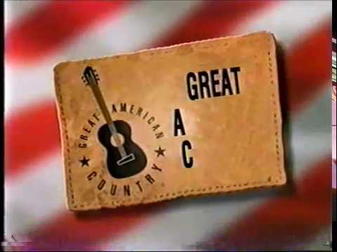 GAC Great American Country Logo in 1999