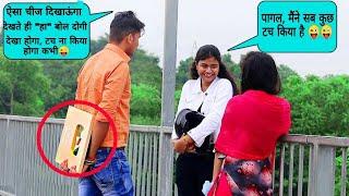 Picking up girl with my GOLDEN PLAY BUTTON //Sumit Cool dubey #Prank #prayagraj #UttarPradesh