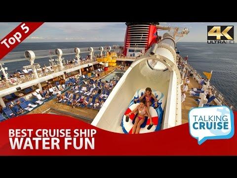 Top 5: Best Cruise Ship Water Fun