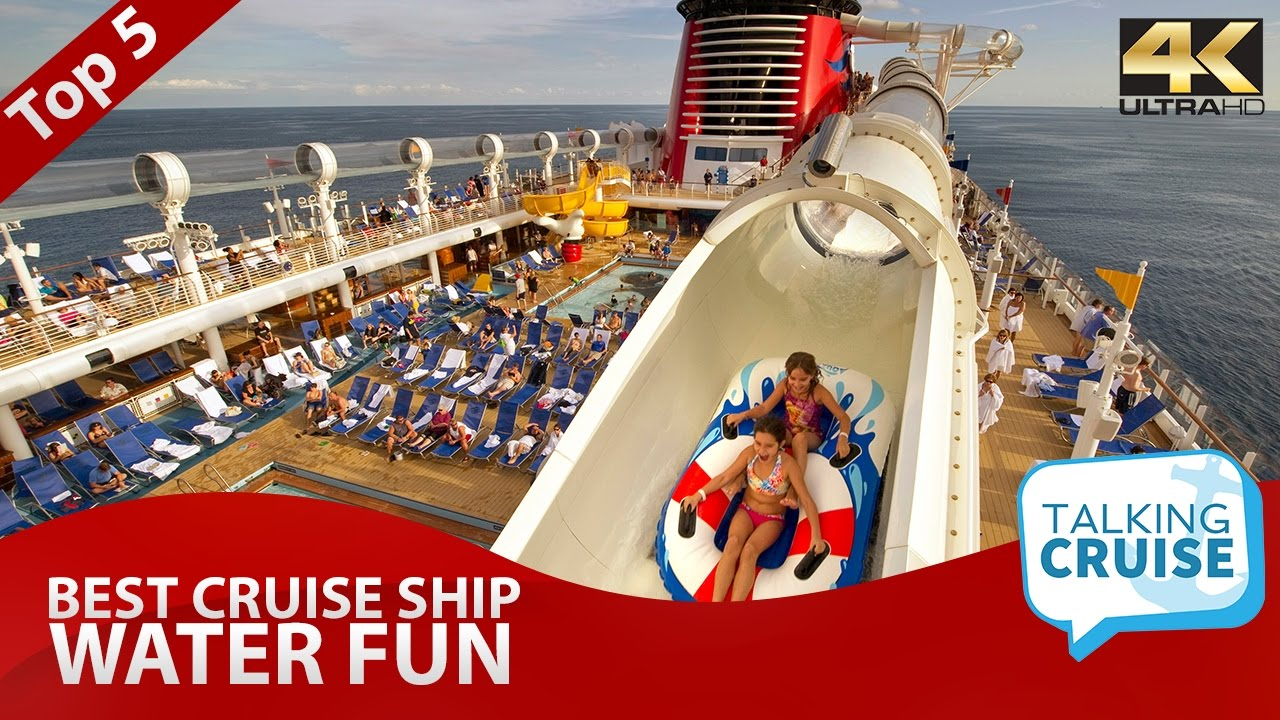 Top 5: Best Cruise Ship Water Fun - YouTube