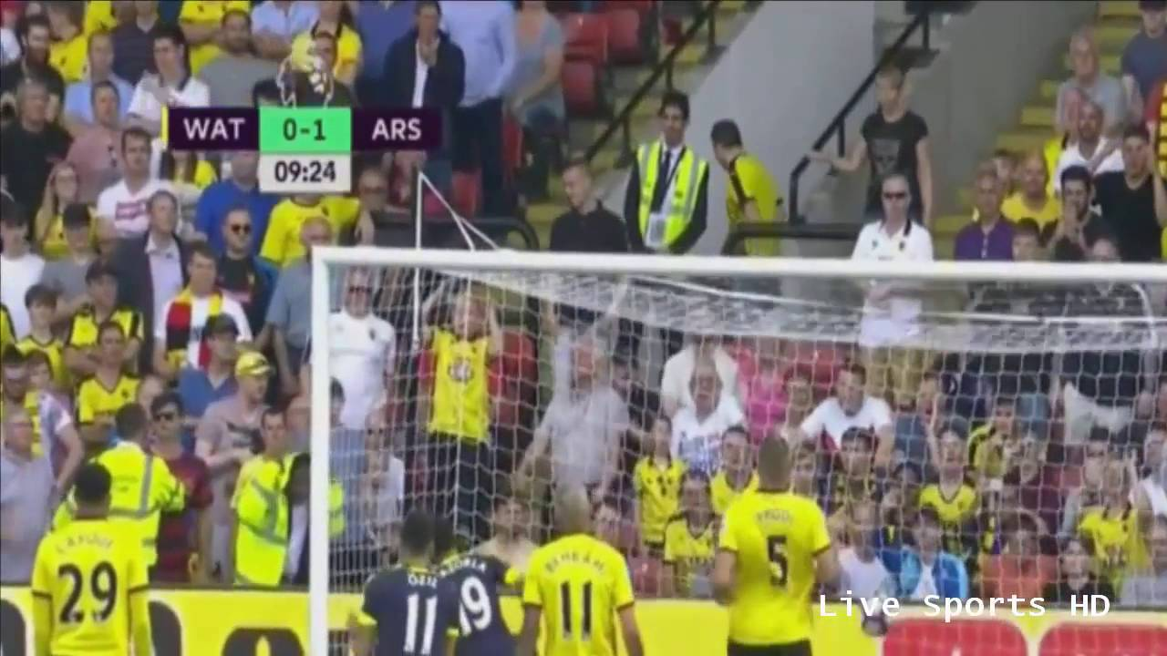 Download Watford vs Arsenal 1-3 All Goals & Highlights 2016   Watford gặp Arsenal 27/08/2016