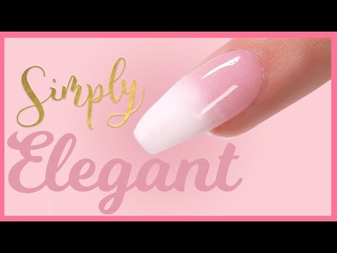 French Ombre Nail Tutorial Using Dip Powder