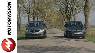 Opel Zafira vs. VW Touran