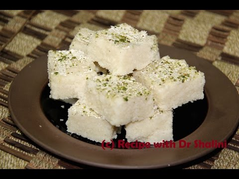 COCONUT BURFI, COCONUT BARFI, Coconut Burfi Recipe, COCONUT FUDGE