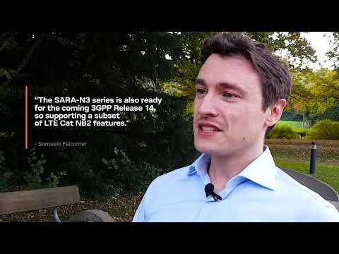 SARA-N3 Multi-band NB-IoT modules - ready for NB2 - YouTube