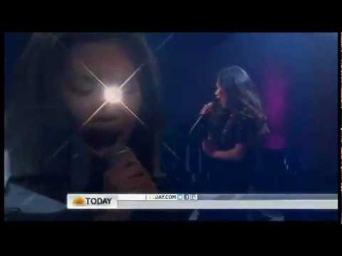 Jessica Sanchez sings I Will Always Love You/And I'm Telling You on Today [05.31.12]