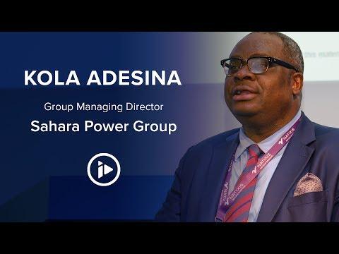 Kola Adesina, Sahara Power Group – Interview At The 2019 Africa Assembly