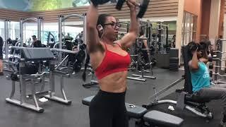 Shoulder Workout - NPC Figure debut in 5 weeks!! #NPCFigureCompetitor