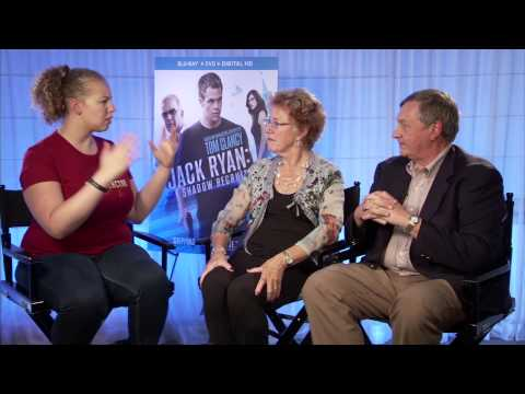 Jack Ryan: Shadow Recruit Interview with CIA Agents Michael Sulick & Marti Peterson