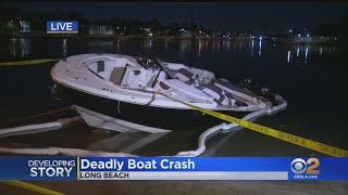 Man Drowns After His Boat Capsizes Near Long Beach