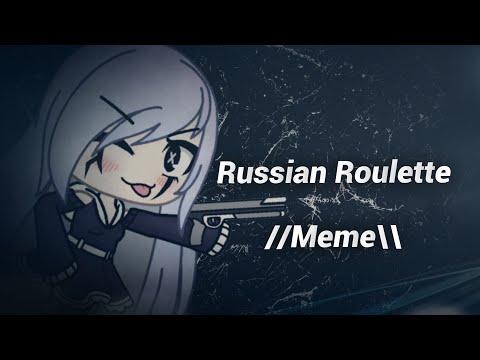 Russian roulette //Meme\\ {Original} - GachaLife