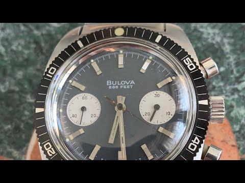 Bulova Devil Diver Chronograph Overview