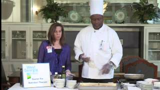 Healthy Cooking With Chef Jeff - Apple Cabbage Slaw With Salmon