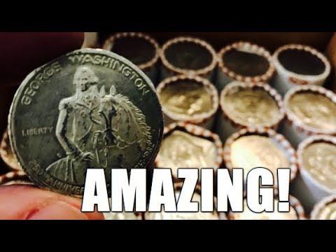 Amazing Find! 250th Anniversary George Washington Commemorative Silver Half Dollar!