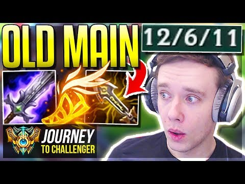 MY OLD ONE-TRICK IS FINALLY META AGAIN - Journey To Challenger  League of Legends
