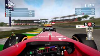 F1 2013 - Incident with Include