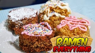 RAMEN DONUTS?! | RAMEN EVERYTHING!