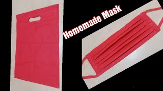 mask Kaise Banate Hain | How To Make Mask At Home | Diy Face Mask | Mask Making From Cloth Bag