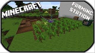 Farming Station ⭐ Minecraft Ender IO  Tutorial ⭐ Deutsch / German