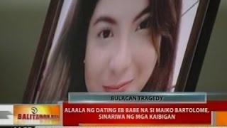 Alaala ng dating EB Babe na si Maiko Bartolome, sinasariwa ng mga kaibigan