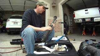 2011 ford super duty titan fuel tank installation