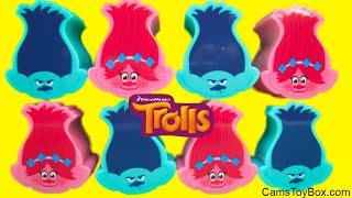 Series 6 Trolls Blind Bags Surprise Toys Opening Branch Poppy Heads Dreamworks 1 2 3 4 5
