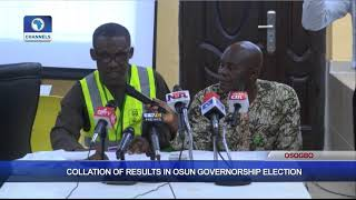 Collation Of Results In Osun Governorship Election Pt.1 |Osun Decides|