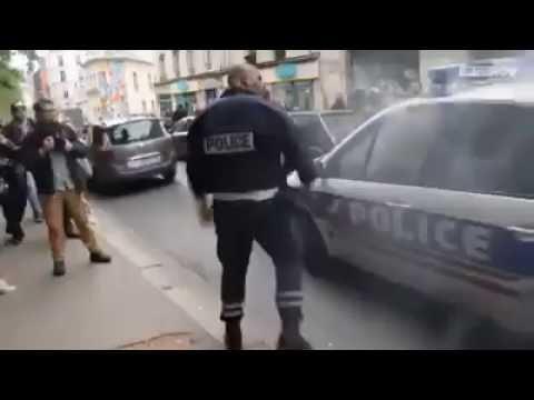 POLICIA FRANCES SE HACE RESPETAR NIVEL LEGENDARIO