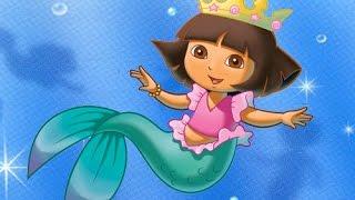 Vestir a Dora La exploradora: Vestir a Dora de sirena - Juegos De Dora