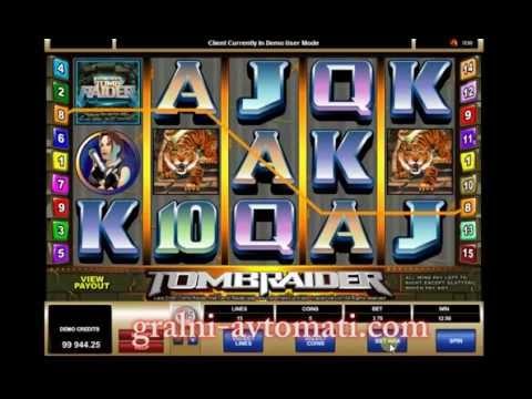 гральний автомат Tomb Raider/ Игровой автомат Tomb Raider / Online Slot Tomb Raider