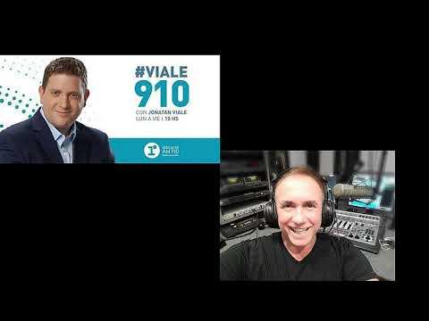 """Jonatan Viale, Radio La Red """"Viale910"""" Con Mauricio Zabalza"""