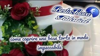 Base torta in gomma Eva,  crepla tutorial