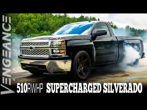 2014 Supercharged 510RWHP 5 3L Silverado - Vengeance Racing