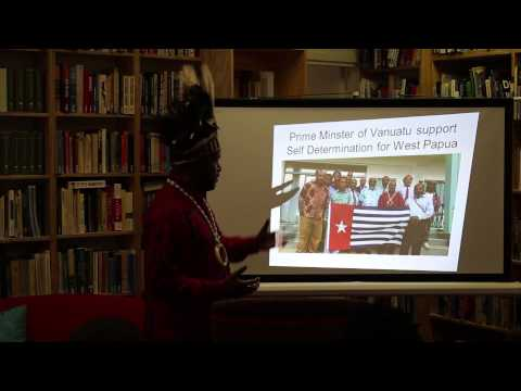 Chief Benny Wenda: Free West Papua - Self-Determination for West Papua 2015