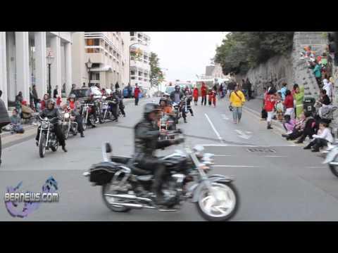 2010 Christmas Parade - Bermuda Longriders